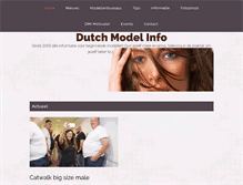 Tablet Preview of dutchmodelinfo.nl